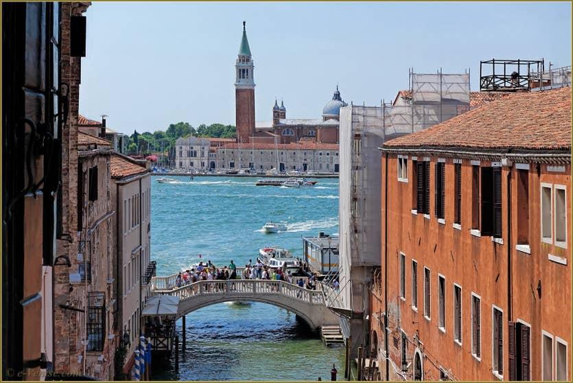Location Greci View à Venise, la vue sur l'île de San Giorgio Maggiore