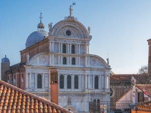 L'église de San Zaccaria, dans le Castello à Venise.