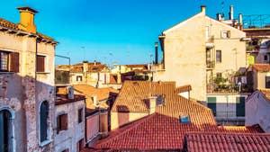La vue depuis le studio Cerchieri Suite à Venise.