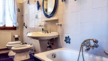 La salle de bains du studio Cerchieri Suite à Venise.