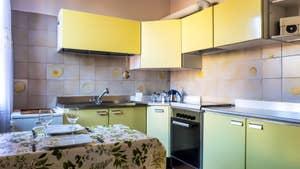 La cuisine du studio Cerchieri Suite à Venise.