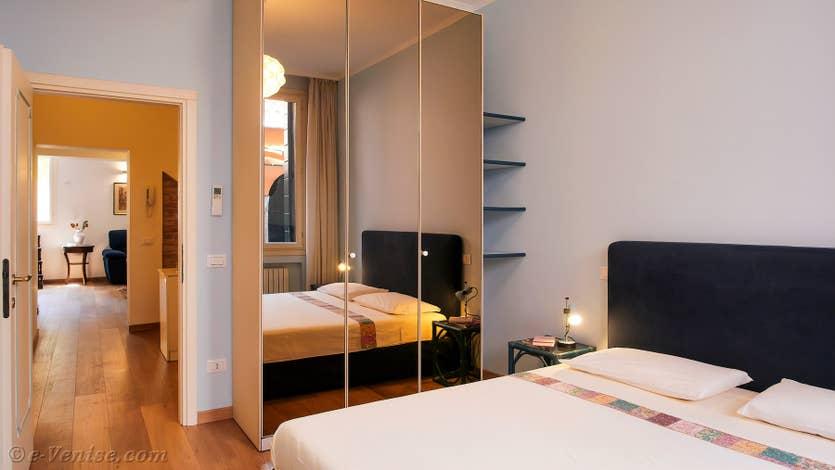 Location Cristie Terrasse à Venise, la première chambre