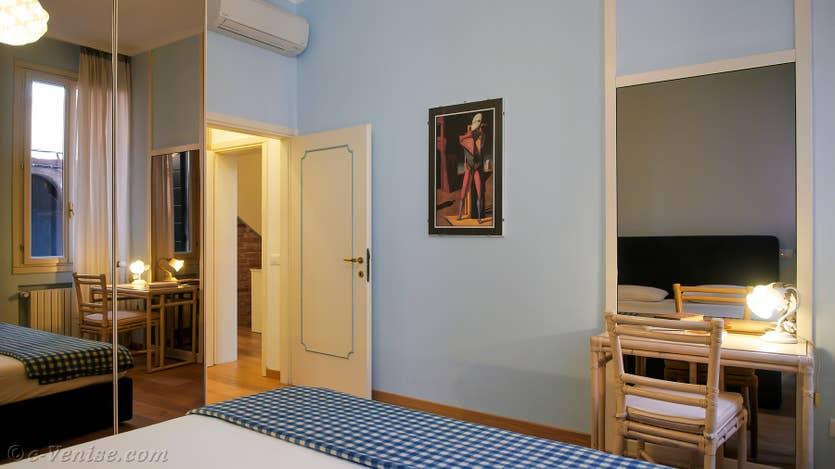 Location Cristie Terrasse à Venise, la seconde chambre
