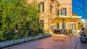 La Grande Terrasse de Giovanni Terrasses à Venise.