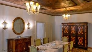 La salle à manger de Goldoni Vista, dans le sestier de Saint-Marc à Venise.