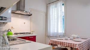 La cuisine de Goldoni Vista, dans le sestier de Saint-Marc à Venise.