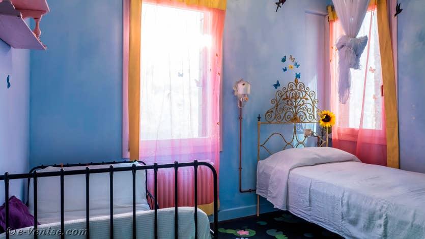 Location le jardin d'Alice à Venise, la chambre du 1er étage