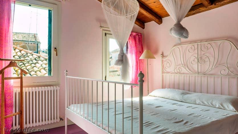 Location le jardin d'Alice à Venise, la seconde chambre au 2e étage
