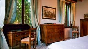 La Chambre matrimoniale de l'appartement Jardin de l'Orto à Venise.