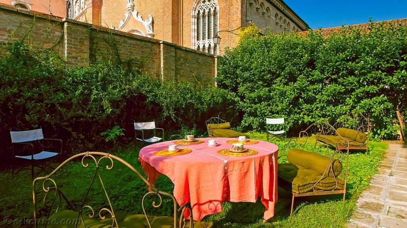 Location Jardin de l'Orto à Venise, le jardin privé