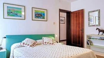 La Seconde Chambre de l'appartement Jardin del Marangon, dans le Sestier du Dorsoduro à Venise.