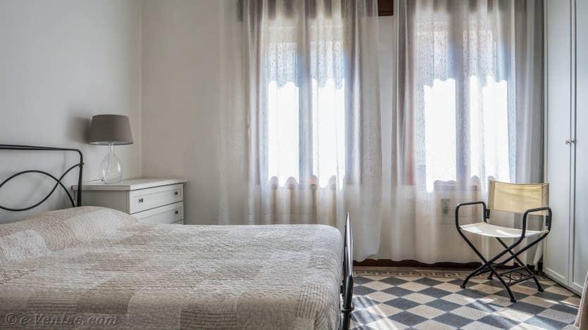 Location Jardin d'Elena à Venise, la première chambre