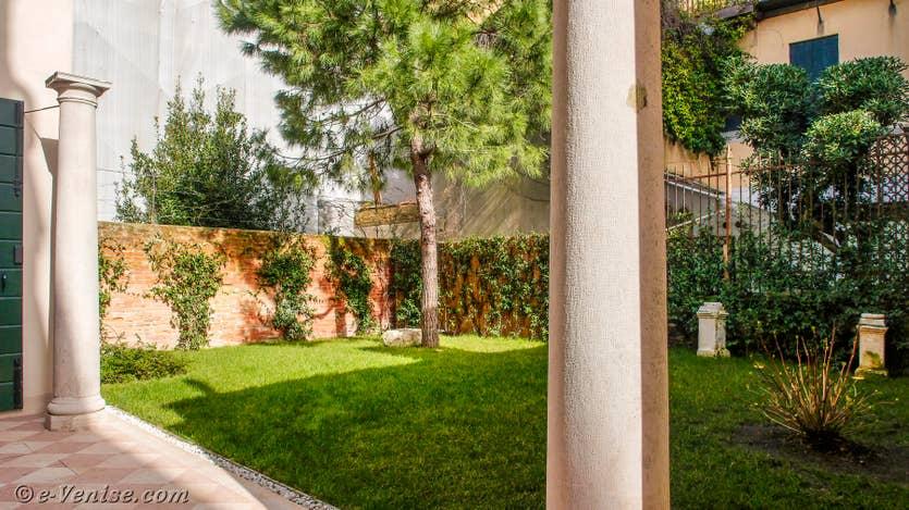 Location Jardin Santo, le jardin