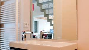 La première salle de bains Jardin Santo