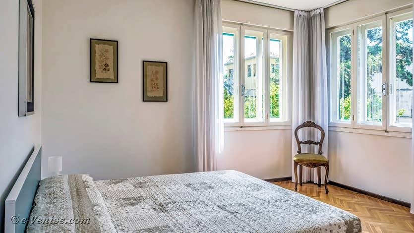 Location Lido Gallo Vista à Venise, chambre matrimoniale