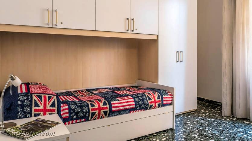 Location Lido Gallo Vista à Venise, chambre lits jumeaux