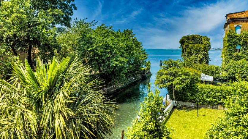 Location Lido Gallo Vista à Venise, la vue depuis le balcon