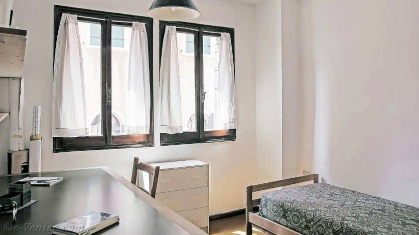 Location Lorenzo Severo Terrasse à Venise, la seconde chambre
