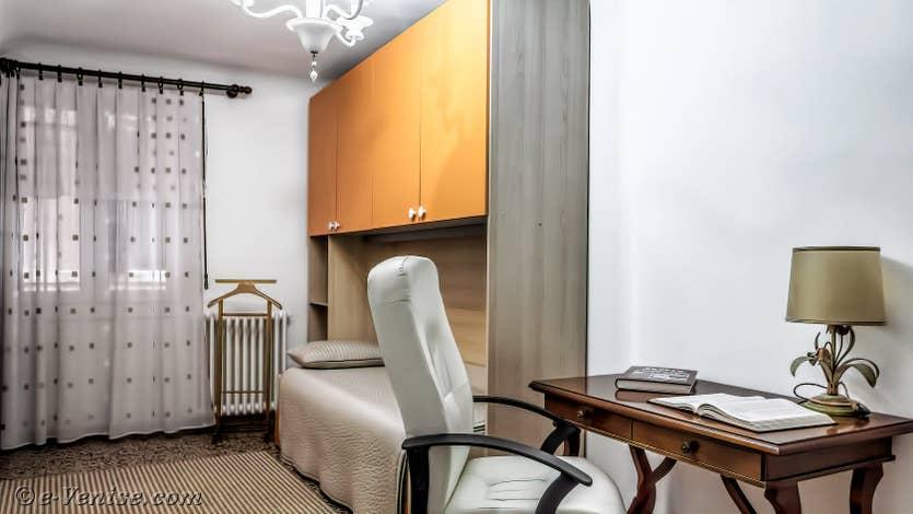 Location Madona Greci à Venise, la chambre individuelle