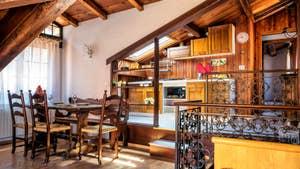 La Salle à manger Salon de Malpaga Terrasse