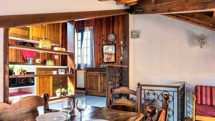 Location Malpaga Terrasse à Venise, la cuisine