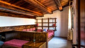 La Chambre Matrimoniale de Malpaga Terrasse