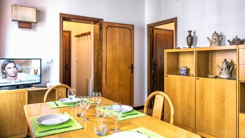 Location Malpaga Toletta à Venise, la salle à manger