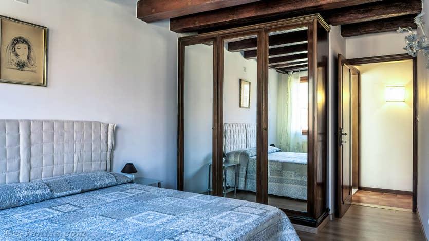 Location Malpaga View à Venise, la chambre matrimoniale