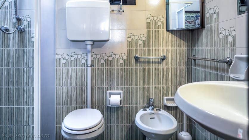 Location Malpaga View à Venise, la salle de bains
