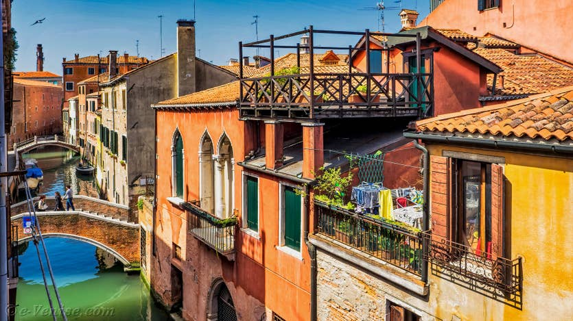 Location Malpaga View à Venise, une des vues depuis l'appartement