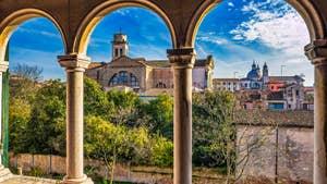 La vue depuis Ognissanti Trifora à Venise.