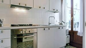La Cuisine de l'appartement Orio Boldo.