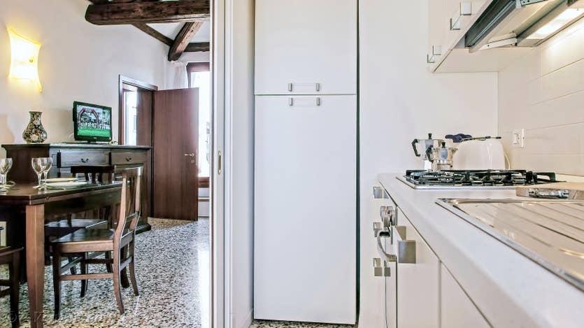 Location Orio Boldo à Venise, la cuisine