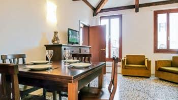 Le Salon Salle à Manger de l'appartement Orio Boldo.