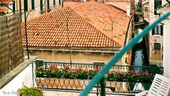 La 1ère Terrasse de l'appartement Orio Boldo Terrasses à Venise.