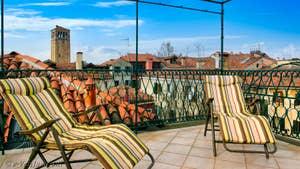 La 2e Terrasse de l'appartement Orio Boldo Terrasses à Venise.