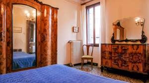 La Première Chambre de l'appartement Orio Boldo Terrasses à Venise.
