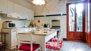 La cuisine de l'appartement Orio Boldo Terrasses à Venise.