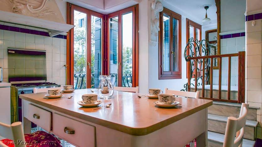 Location Orio Boldo Terrasses à Venise, la cuisine