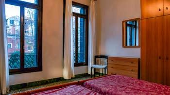 La Seconde Chambre de l'appartement Orio Boldo Terrasses à Venise.