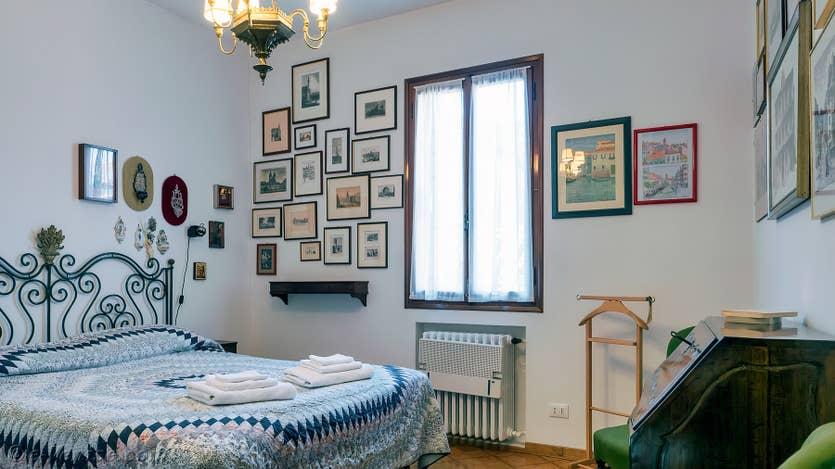 Location Palazzetto Formosa à Venise, la seconde chambre