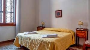 La 1ère Chambre de l'appartement du Palazzo Lion, dans le Sestier du Cannaregio à Venise.
