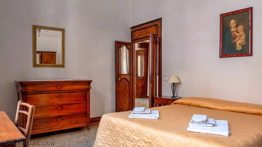 Location Palazzo Lion à Venise, la deuxième chambre