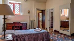 La Quatrième Chambre de l'appartement du Palazzo Lion, dans le Sestier du Cannaregio à Venise.