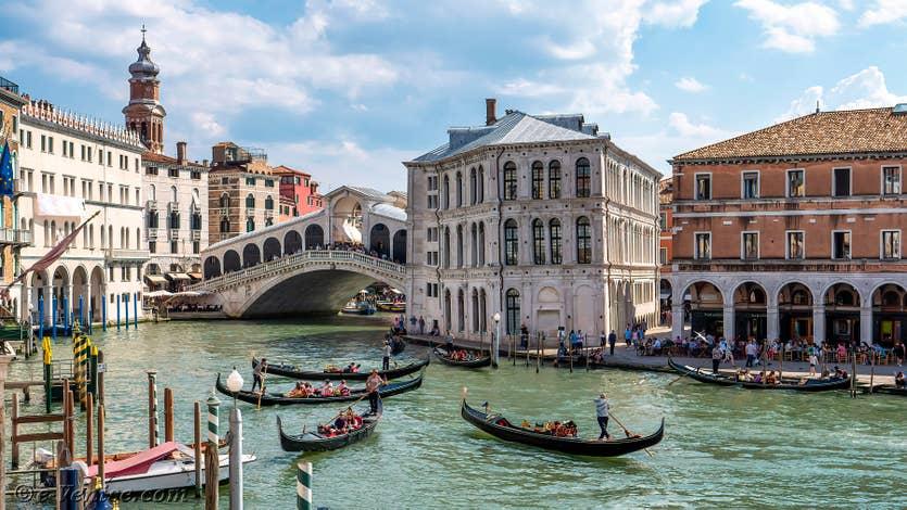 Location Palazzo Lion à Venise, la vue sur le Grand Canal