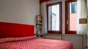 La Chambre d'enfants de l'appartement Palazzo Silvestro Rava, dans le sestier de San Polo à Venise.