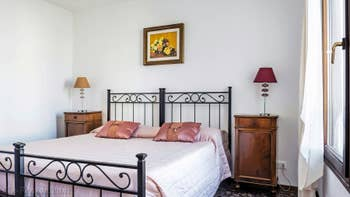La Seconde Chambre de l'appartement Rialto Grand Canal, dans le Sestier de San Polo à Venise.