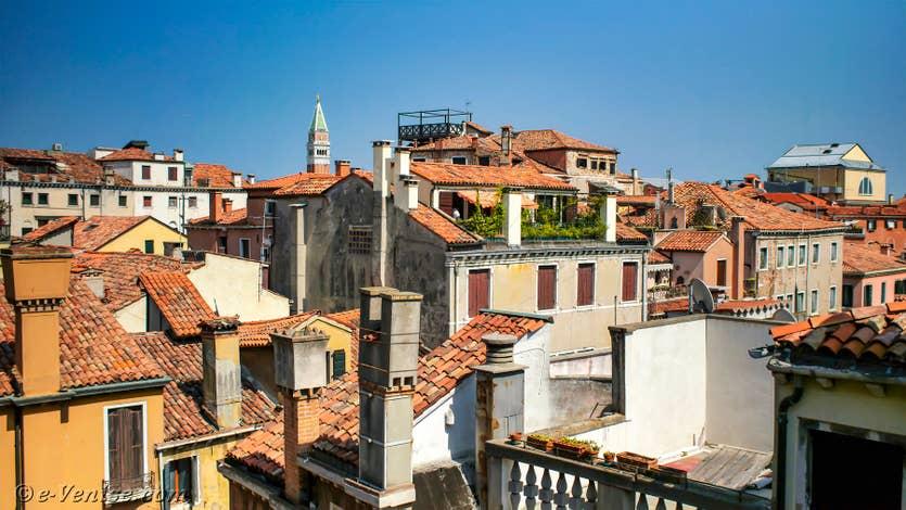 Location Teatro Garzoni à Venise, l'une des vues depuis l'appartement