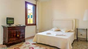 La 3e Chambre de l'appartement Teatro Garzoni, dans le sestier de Saint-Marc à Venise.