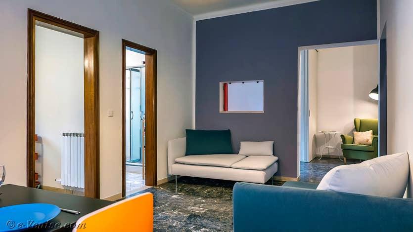 Location Vida Biennale à Venise, le salon salle à manger